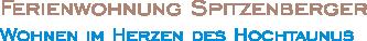 Ferienwohnung Spitzenberger Logo